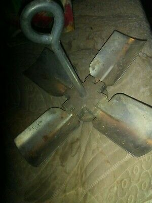 Vintage! Small Folding Steel Boat Anchor Maritime  weighs about 3 lb