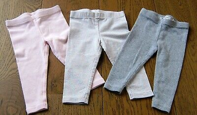 3 X Country Road Baby Girls Leggings Sz  3 - 6 Months (00)