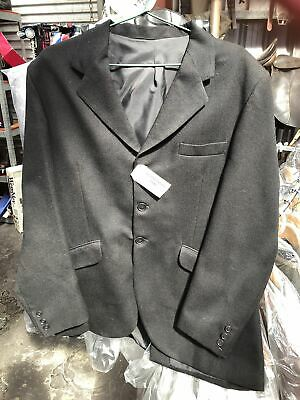 Ascot Men's Riding Coat Size: 38R Black