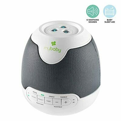 MyBaby SoundSpa Lullaby Sounds & Picture Projection, Start a Nightly Ritual of L