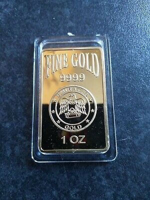 House clearance item. Emirates Gold Bar.