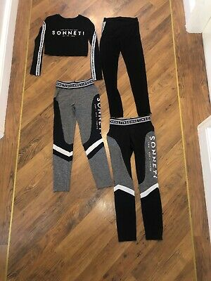 Girls Sonneti Legging And Crop Top Set Age 10-12 Years