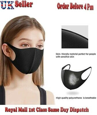 Brand New 1/3/5/10/20PCS Washable Face Mask Breathable Safety Mouth Mask Filters