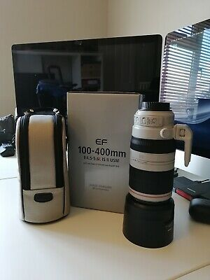 Canon EF 100 mm - 400 mm F/4.5-5.6 L IS II USM For Canon - Mint Condition