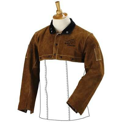 Black Stallion 21CS Premium Side Split Cowhide Welding Cape Sleeve Large
