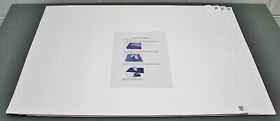"""(4) Condor Tacky Mat Replacement Pads 30CM60, 24"""" x 30"""", 60 Sheets / Pad, White"""