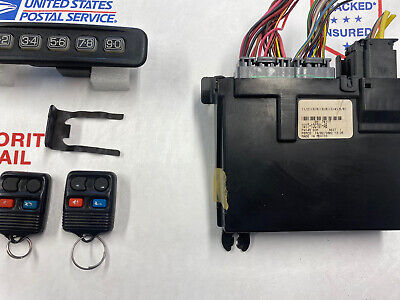 2001-02 LINCOLN TOWN CAR KEYLESS ENTRY MODULE 1W1T-13C791-AB OR AA OEM