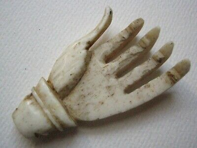 Antique Carved Hand, probably from an old back scratcher