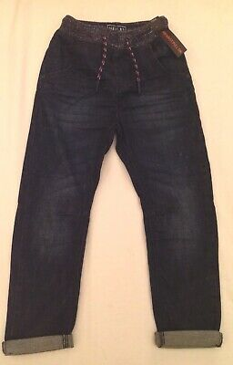 Next Boys Ribbed Waist Jeans Size 6 Years