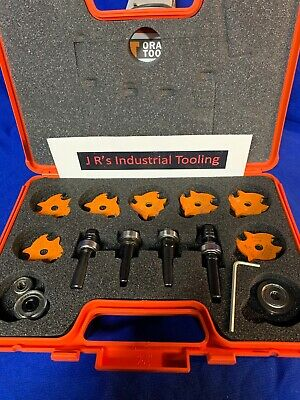 CMT Tools 823.001.11 -  Slot Cutter Set in Carrying Case, 8mm bore