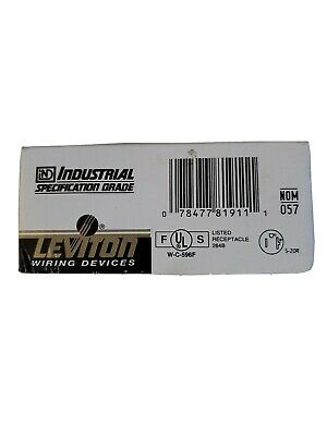 Leviton 5362-IG 20A 125V Hosipal Grade Isolated Ground Receptacle 5-20R, New