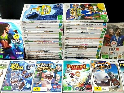 Nintendo Wii Games CHOOSE YOUR OWN TITLE Individual Sale - PAL