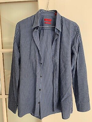 2 X Mens Business Shirts Size Small Hugo Boss Officine Generale