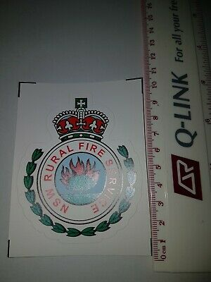 NSW Rural Fire Service Decal