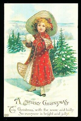Old Christmas Card Issued by Save the Children (726)