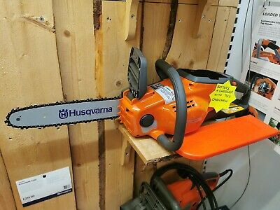 """Husqvarna 120i Battery Chainsaw Kit with battery & Charger 12"""" Bar Brand New"""
