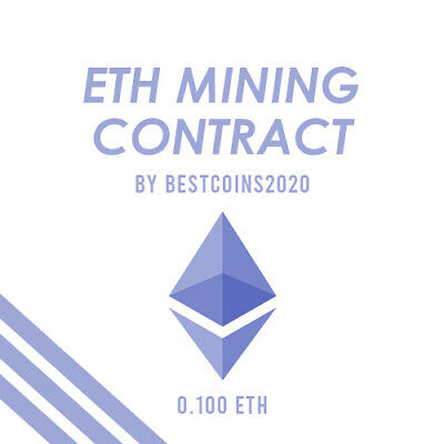 Mining Contract 5 Hours (Ethereum) Processing Speed (TH/s) 0.100 ETH