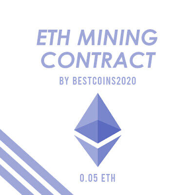 Mining Contract 4 Hours (Ethereum) Processing Speed (TH/s) 0.05 ETH