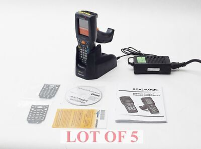 Lot 5 New Datalogic Dl-Skorpio-G 701-902 Touchscreen Barcode Scanner W/ Chargers