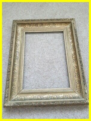 A Good Victorian Gilt Gesso Picture Frame, Nice Size And High Quality.