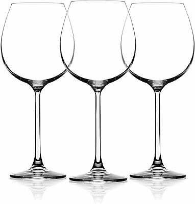 Premium Crystal Wine Glass 22 oz Hand Blown Extra Large Bowl for Anniversary Red