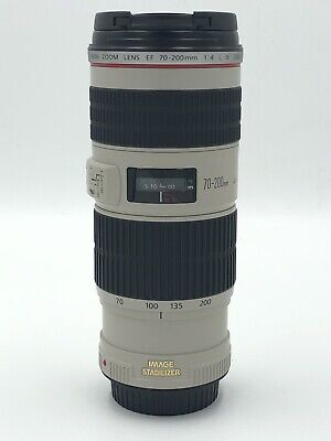Canon EF 70-200mm f/4L IS USM - Full Frame Telephoto Zoom Lens - #K49155