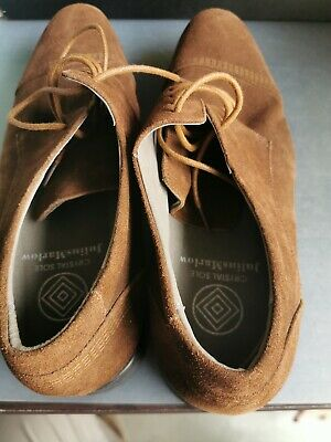 Mens Julius Marlow Men's Tan  Brown Leather Lace Up Work Dress Shoes Us 11