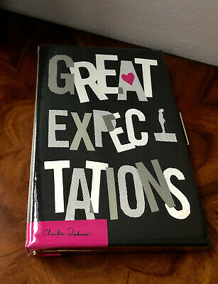 2013 Whimsy! NEW Kate Spade BOOK-OF-THE-MONTH Great Expectations Book Clutch