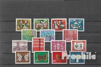 FRD (FR.Germany) 1962 unmounted mint / never hinged Complete Volume in clean Con