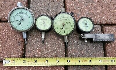 4 FEDERAL PRATT WHITNEY Aircrft Machinist Dial Gages WC21 B8I B21 & C81 or (C8I)