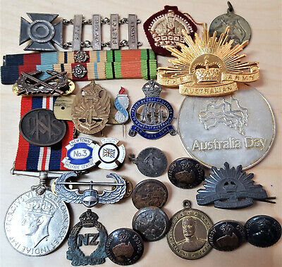 *Australian & World Military Badges, Medals, Pins & Uniform Patches