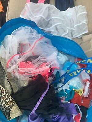 Job Lot Of 12kgs Assorted Childrens Dance Costumes & Accessories 40+ Costumes