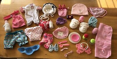 bundle job lot dolls babies clothing shoes and accessories