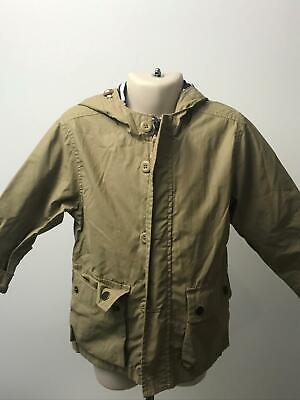 Boys Baby Gap Stone Hooded Mac Rain Coat Jacket Kids Age 3 Yrs