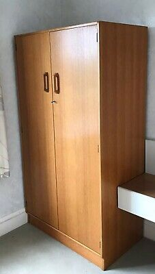 G Plan Gent's vintage Wardrobe.  Very good clean condition, well cared for.