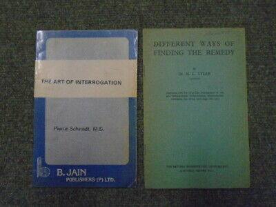 The Art Of Interrogation; Different Ways Of Finding The Remedy. Two Volumes