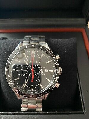 Tag Heuer Carrera Stainless Steel Automatic Wristwatch Cv2014.Ba0786