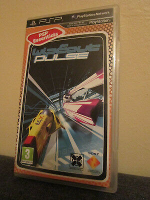 WipEout Pulse Essentials  + Anleitung - für PSP - Sony Play Station Portable