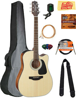Takamine GD30CE Dreadnought Acoustic-Electric Guitar - Natural w/ Gig Bag