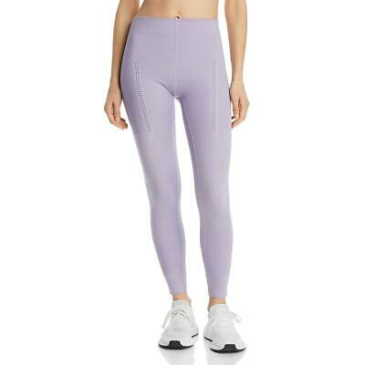 Adidas Stella McCartney Womens Purple Fitness Athletic Leggings S BHFO 0428