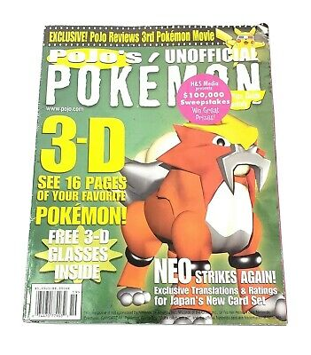 Pojo's Unofficial Pokemon News & Price Guide Monthly Vol. 1 No. 12 October 2000