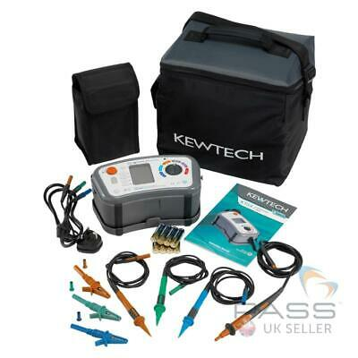 NEW Kewtech KT64DL Multifunction Tester with ATT incl. Calibration Certificate