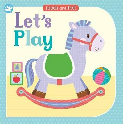 Interactive Touch & Feel book Age 0+ New sensory textures babie first words New