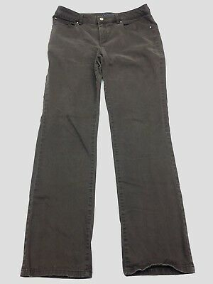 Charter Club Womens Pants Sz 14 Brown Trousers Business Dress Professional Work