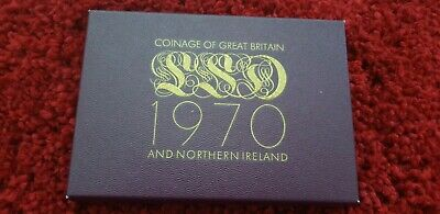 1970 Pre Decimal Coinage Of Great Britain And Northern Ireland Proof Coin Set