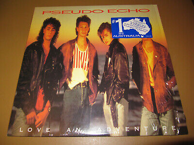 "Pseudo Echo 'Love An Adventure' 12"" Vinyl LP w/ HYPE STICKER"
