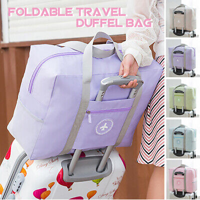 Foldable Travel Bag Luggage Shoulder Storage Waterproof Carry-On Duffle 600D !