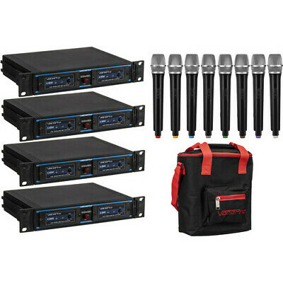 VocoPro Handheld Wireless Microphone Package with Carry Bag Kit (900 MHz Band)