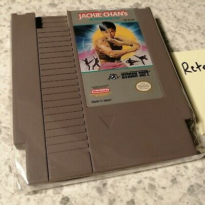 Jackie Chan's Action Kung Fu (Nintendo Entertainment System, 1990)