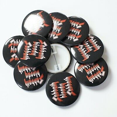 Wholesale 38mm Badges Official Black Sabbath Rock Band Sabbath Bloody Sabbath